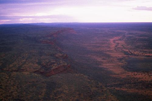 Kings Canyon from above